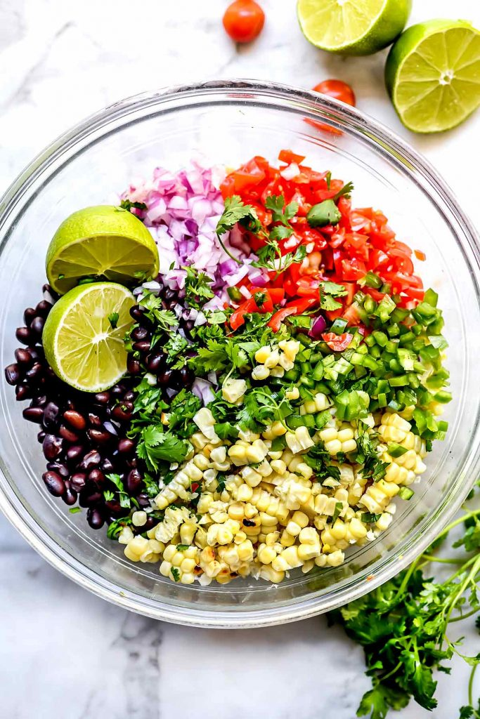 Ingredients Corn Salsa | foodiecrush.com