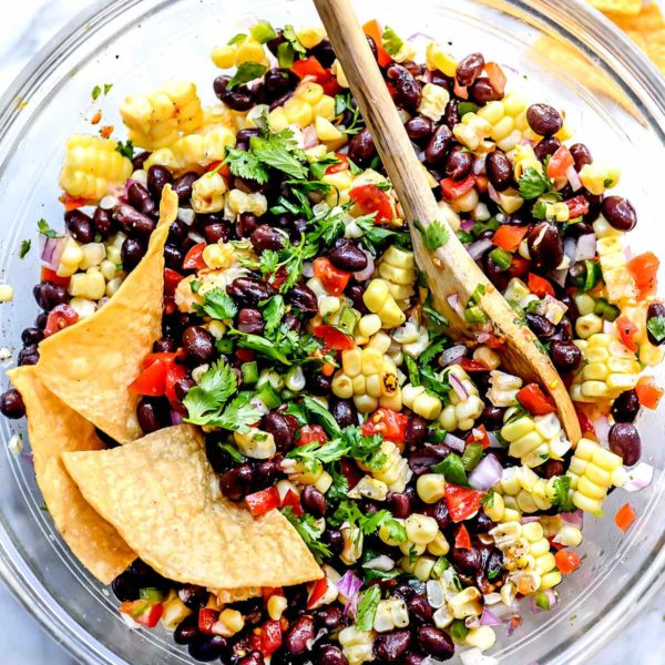 Corn Salsa | foodiecrush.com