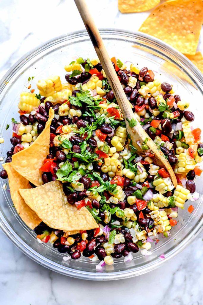 Corn Salsa | foodiecrush.com