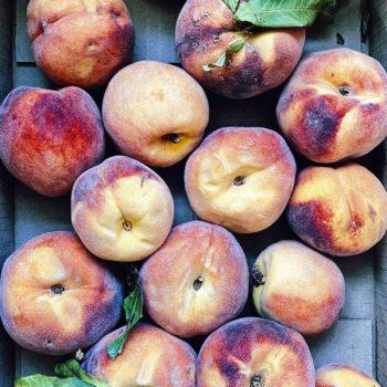 Peaches foodiecrush.com