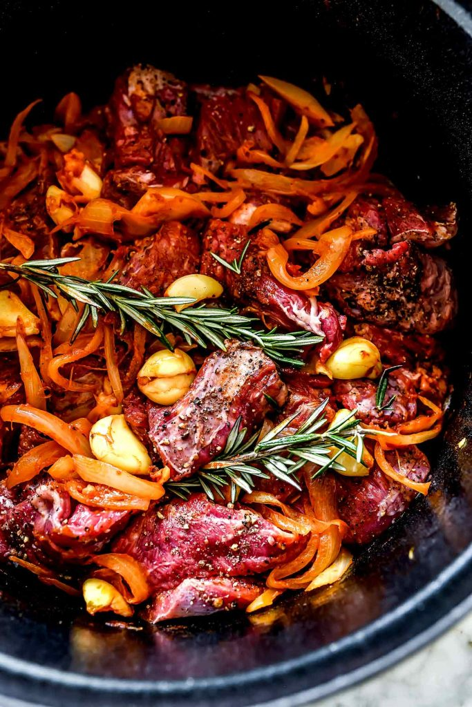 Tuscan Beef Stew Ingredients | foodiecrush.com