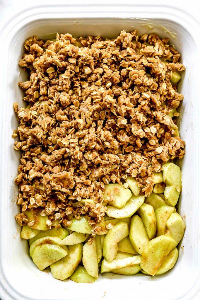 THE BEST Apple Crisp | foodiecrush.com