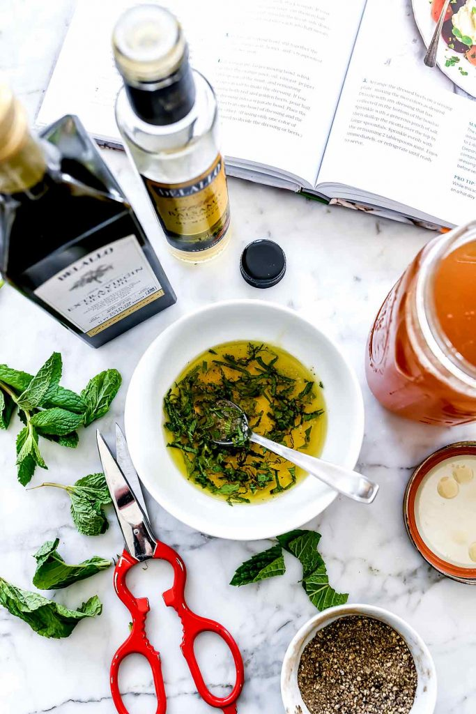 Salad Dressing Roasted Beet Salad | foodiecrush.com