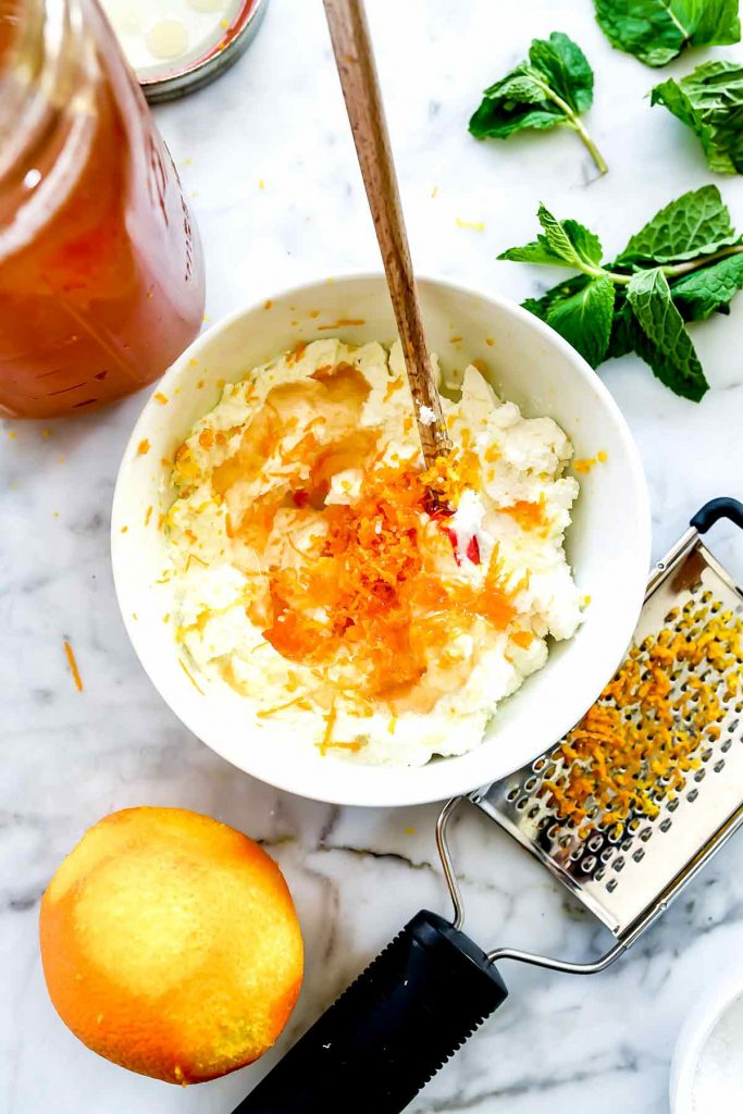 Orange Ricotta Roasted Beet and Ricotta Salad Ingredients | foodiecrush.com