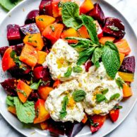 Roasted Beet and Ricotta Salad | foodiecrush.com