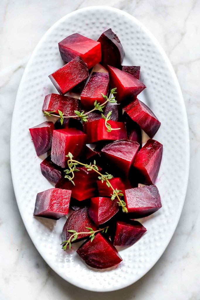 Perfectly Easy Roasted Beets | foodiecrush.com