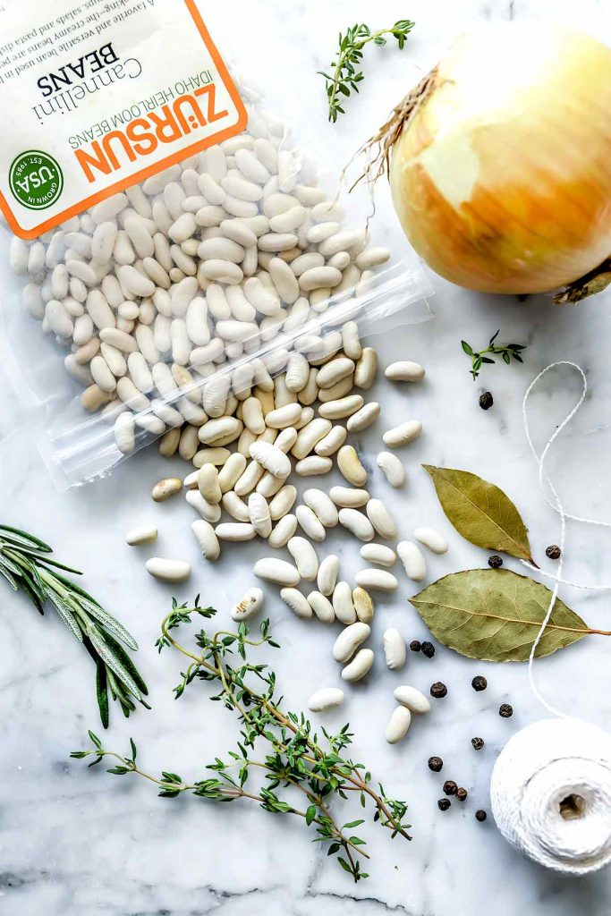 Dry Cannellini Beans | foodiecrush.com
