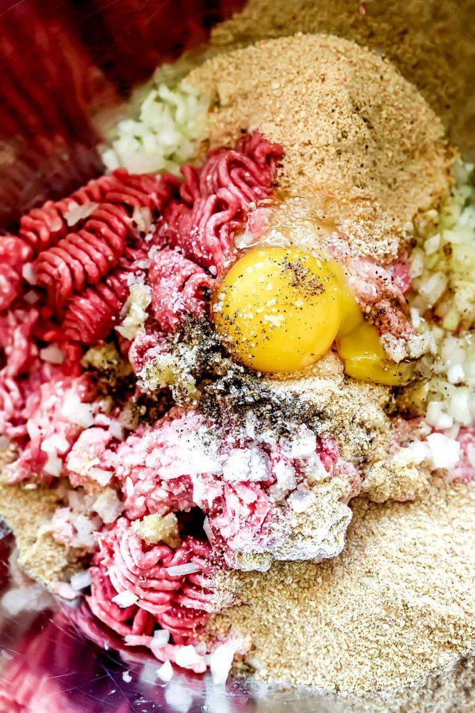 Swedish Meatballs Ingredients | foodiecrush.com