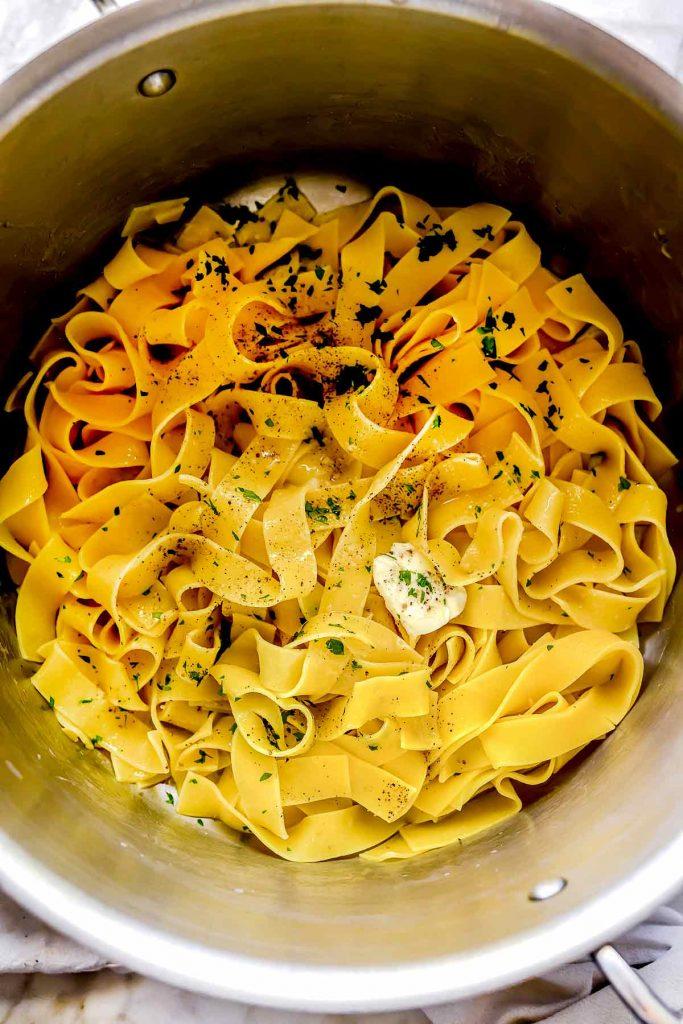 Butter Noodles | foodiecrush.com