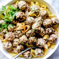 Swedish Meatballs | foodiecrush.com