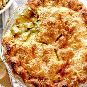 Turkey Pot Pie with Curry | foodiecrush.com