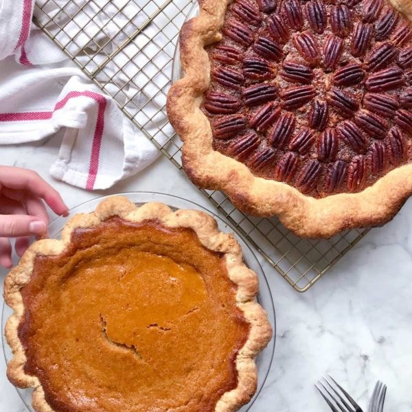 Thanksgiving pies foodiecrush.com