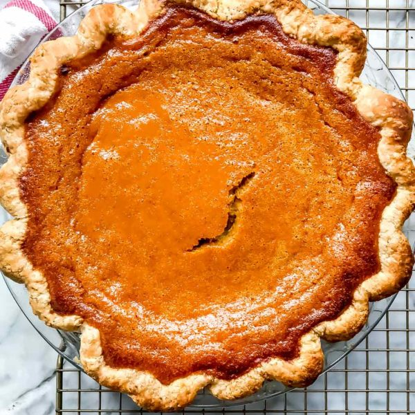 Pumpkin Pie foodiecrush.com