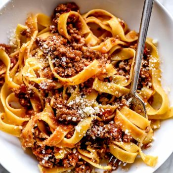 The BEST Bolognese | foodiecrush.com