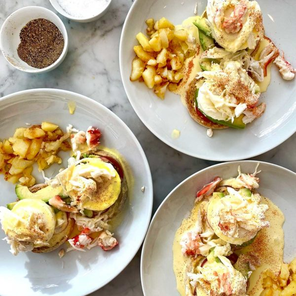 Crab Eggs Benedict | foodiecrush.com