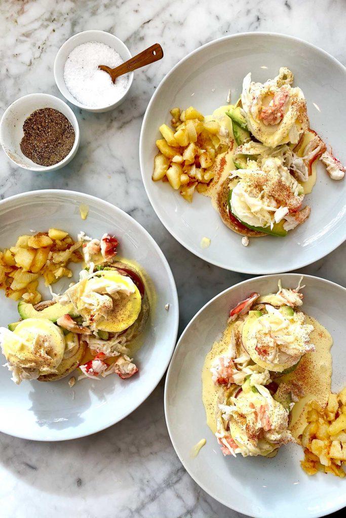 Crab Eggs Benedict | foodiecrush.com