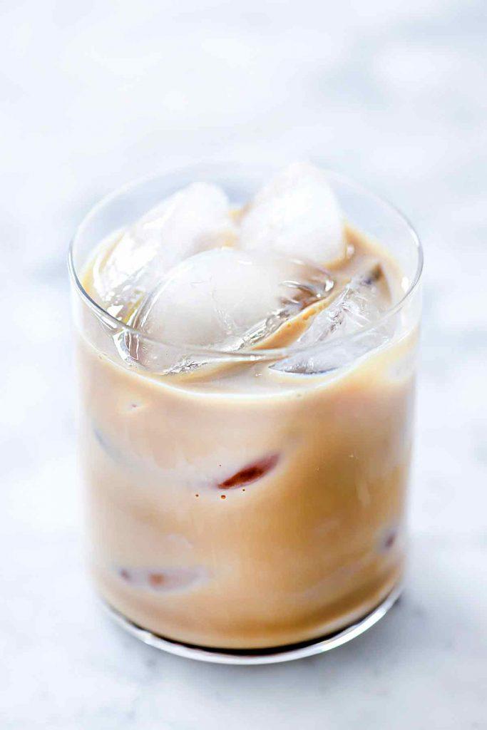 Homemade Baileys Irish Cream In Glass | foodiecrush.com