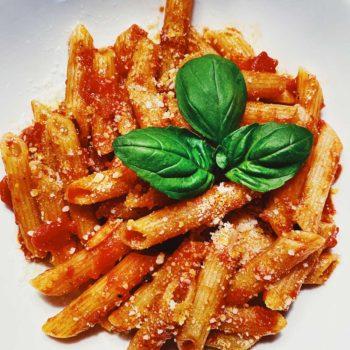 Pasta Marinara foodiecrush.com