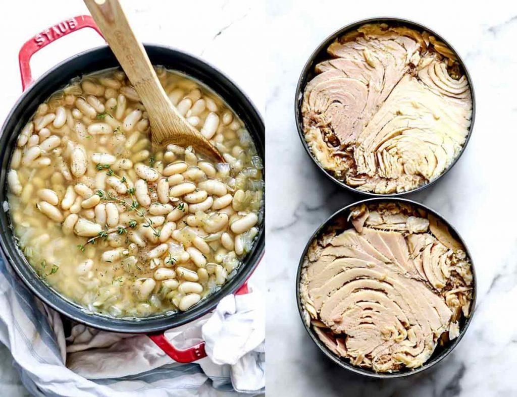 White beans and tuna foodiecrush.com