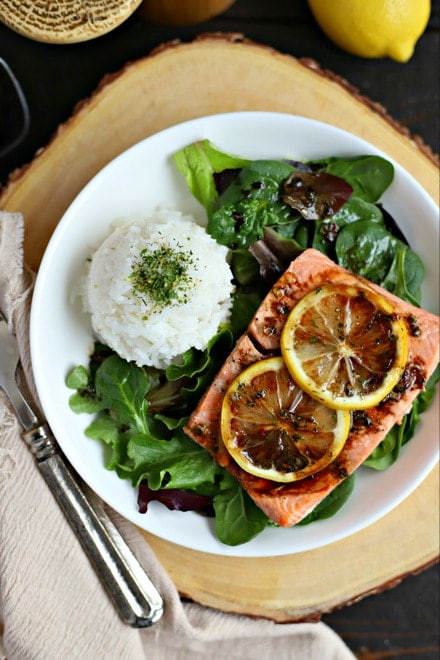 Instant Pot Salmon Dinner (from Frozen!) from Everyday Maven on foodiecrush.com