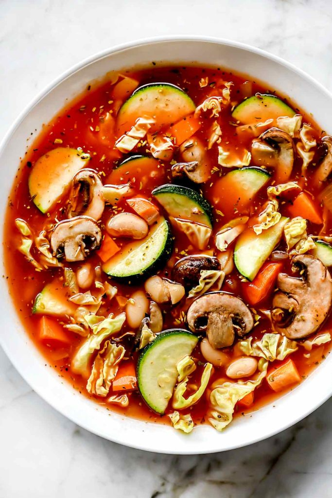 Weight Watchers Cabbage Soup | foodiecrush.com