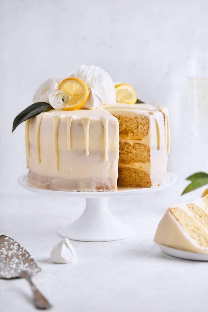 Citrus Champagne Layer Cake from Tutti Dulci