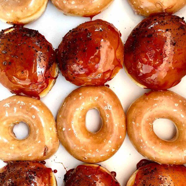 Krispie Kreme Mars Donuts foodiecrush.com