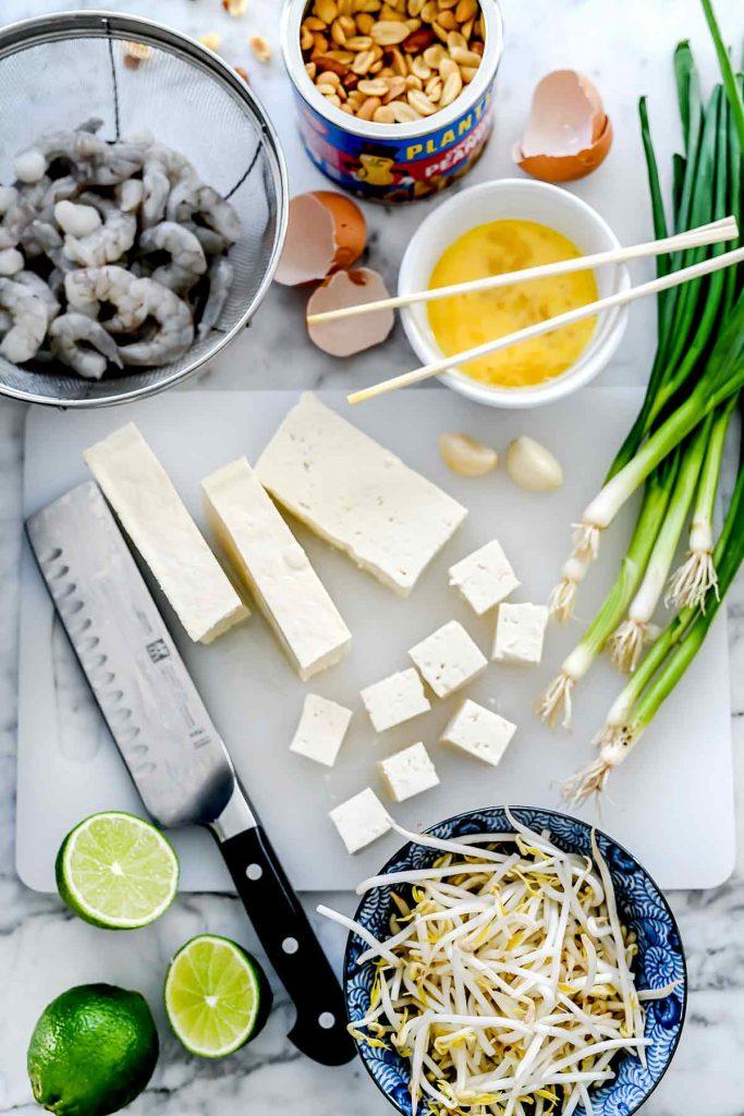 Pad Thai ingredients foodiecrush.com