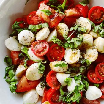 Caprese salad foodiecrush.com