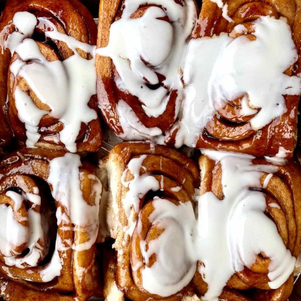 Cinnamon rolls foodiecrush.com