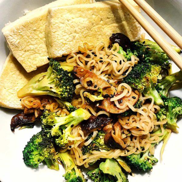 Ramen with Broccoli and Tofu foodiecrush.com