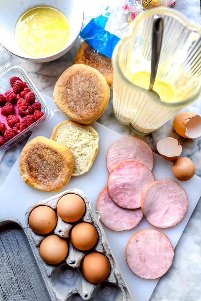 Eggs Benedict Ingredients foodiecrush.com