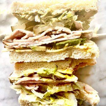 turkey sandwich foodiecrush.com