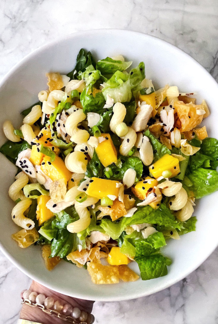 Chinese Chicken Salad foodiecrush.com