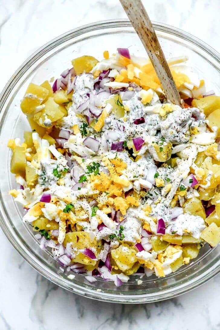 Ranch Potato Salad foodiecrush.com