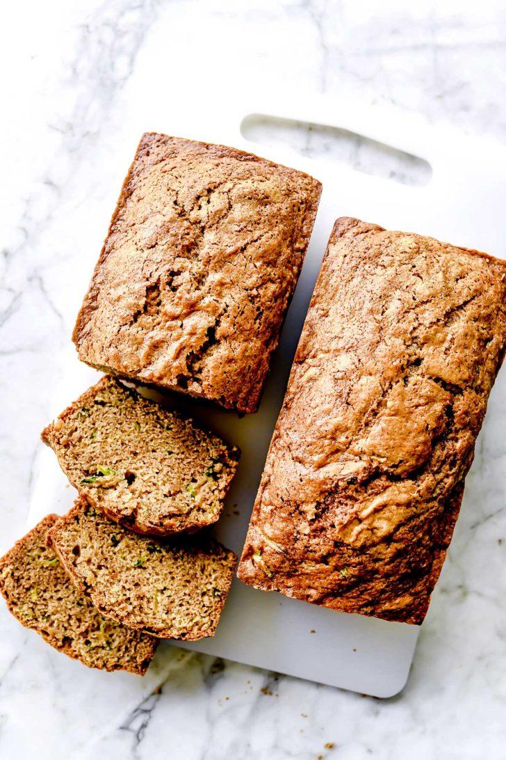 The BEST Easy Zucchini Bread foodiecrush.com
