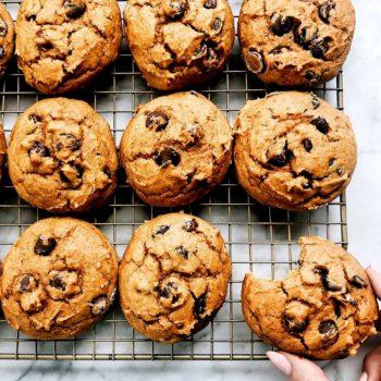THE BEST Pumpkin Chocolate Chip Cookies foodiecrush.com
