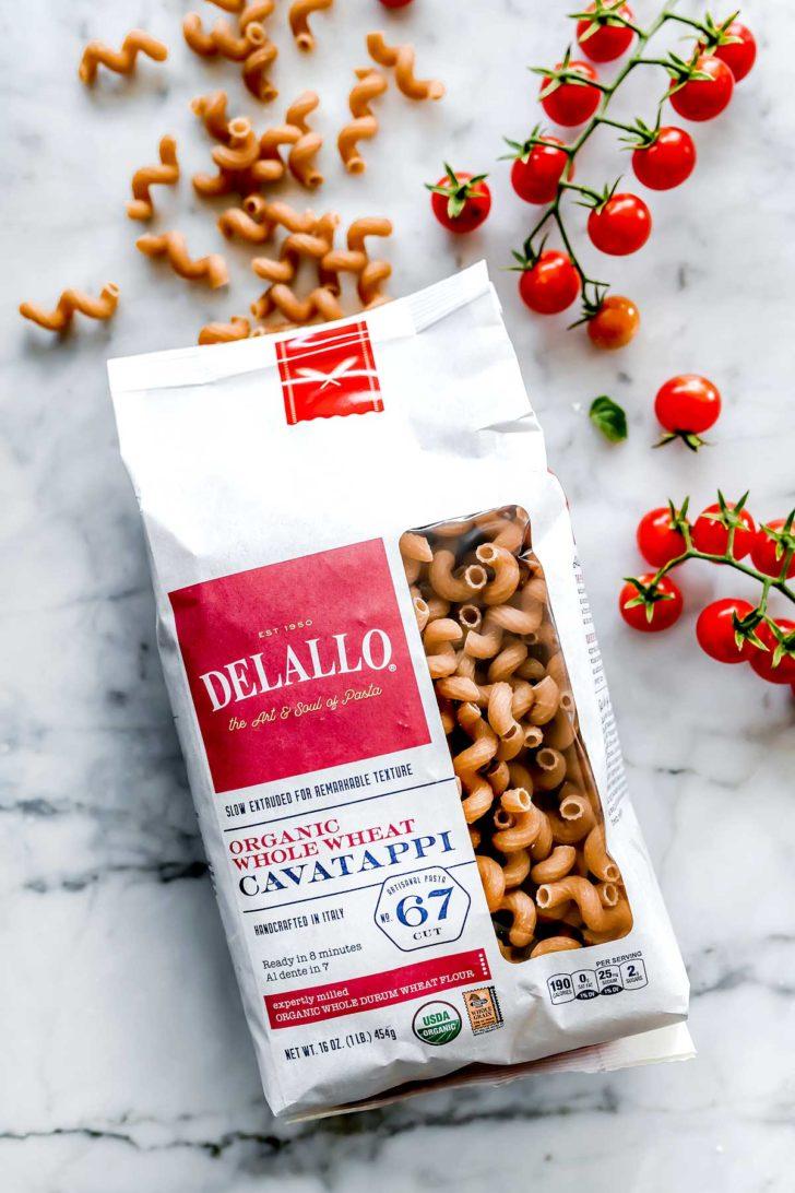 DeLallo Whole Wheat Pasta foodiecrush.com
